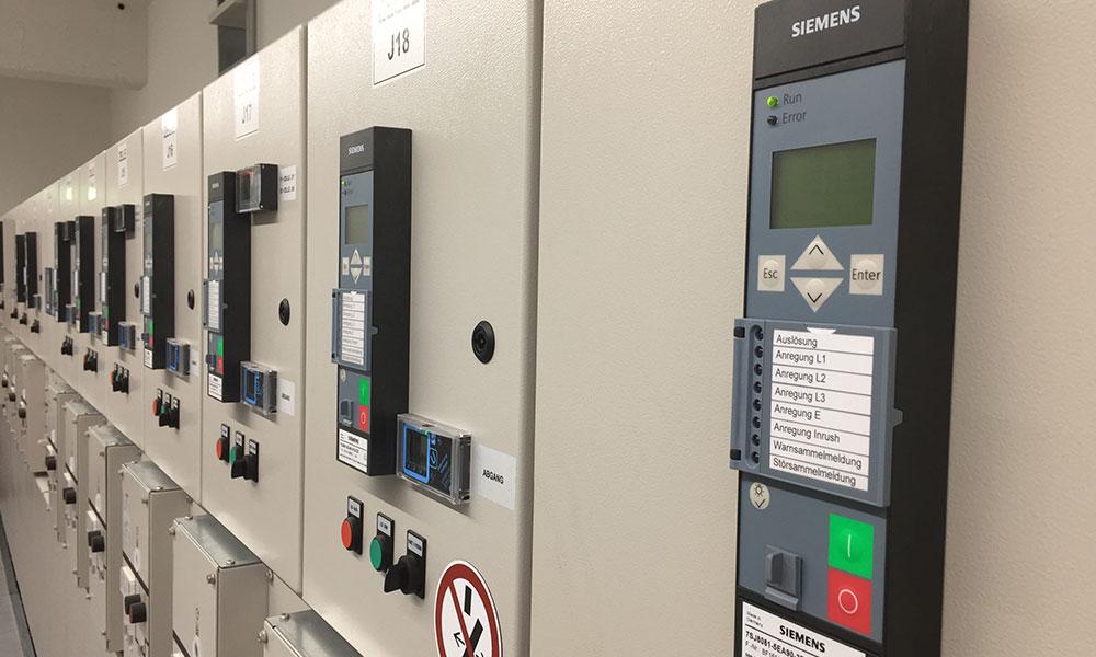 Elektrotechnik Preiß Langenau Leistungen Schutztechnik, Schutz, Sicherheit, Ulm Umgebung, Siemens, Anlagen